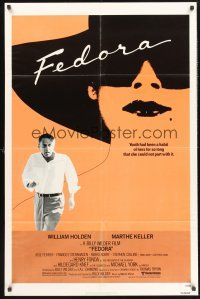 4g297 FEDORA 1sh '79 by director Billy Wilder, great image with William Holden!