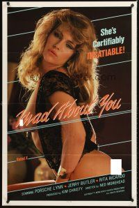 4g589 MAD ABOUT YOU 1sh '87 half-clad sexy Debi Diamond she's certifiably insatiable!