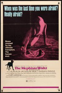 4g616 MEPHISTO WALTZ 1sh '71 Jacqueline Bisset, when was the last time you were really afraid?