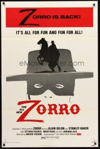 4g999 ZORRO 1sh '76 masked hero Alain Delon, all for fun and fun for all!