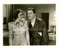 4h048 AFTER THE THIN MAN 8x10 still '36 Myrna Loy stares at husband William Powell!