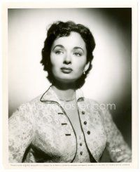 4h059 ANN BLYTH 8x10 still '51 head & shoulders portrait of the pretty actress in lace blouse!
