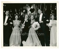 4h078 BABES ON BROADWAY 8x10 still '41 Mickey Rooney, Judy Garland & others put on a show!