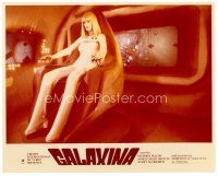 4h020 GALAXINA color 8x10 still '80 great close up of sexy Dorothy Stratten in the title role!