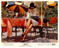4h031 SOPHIA LOREN color 8x10 still '66 the sexy Italian wearing shades & hat from Judith!