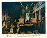 4h027 MY FAIR LADY color English FOH LC '64 Audrey Hepburn as flower girl Eliza Doolittle!