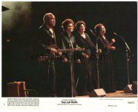 4h025 LAST WALTZ 8x10 mini LC #4 '78 Martin Scorsese, great image of The Staples performing!