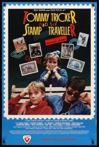 4r006 TOMMY TRICKER & THE STAMP TRAVELLER Canadian '88 Anthony Rogers in title role!
