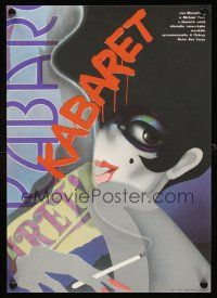 4r025 CABARET Czech 11x16 1989 cool different art of Liza Minnelli, directed by Bob Fosse!