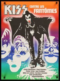 4r011 ATTACK OF THE PHANTOMS Swiss '78 KISS, Criss, Frehley, Simmons, Stanley!