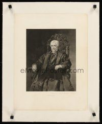4w180 PORTRAIT OF OLIVER WENDELL HOLMES linen 13x17 photogravure 1896 art by Sarah W. Whitman!
