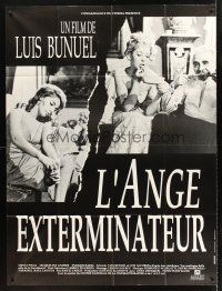 4x040 EXTERMINATING ANGEL French 1p R70s Luis Bunuel's El angel exterminador starring Silvia Pinal!