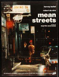 4x050 MEAN STREETS French 1p R80s Robert De Niro, Martin Scorsese, different image!