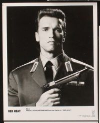 5a050 RED HEAT presskit '88 Walter Hill, cops Arnold Schwarzenegger & James Belushi!