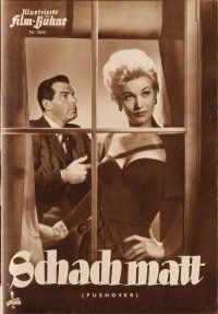 5b227 PUSHOVER German program '54 different images of Fred MacMurray & sexiest Kim Novak!