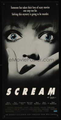 5j115 SCREAM Aust daybill '96 directed by Wes Craven, David Arquette, Neve Campbell!