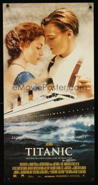5j118 TITANIC Aust daybill '97 Leonardo DiCaprio, Kate Winslet, directed by James Cameron!
