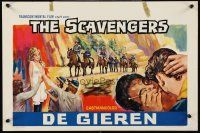 5j445 SCAVENGERS Belgian '69 Jonathan Bliss, Maria Lease in Lee Frost sex western!