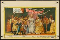 5j464 TOM SAWYER Belg/Eng '73 Johnny Whitaker & young Jodie Foster in Mark Twain's classic story!