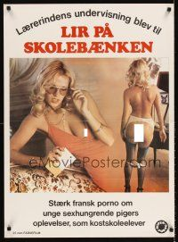 5j562 LITTLE SCHOOLGIRLS Danish '80 Claude Mulot, wild images of sexy women, French sexploitation!