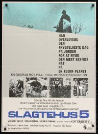 5j602 SLAUGHTERHOUSE FIVE Danish '72 Kurt Vonnegut, Michael Sacks, topless Vallerie Perrine!