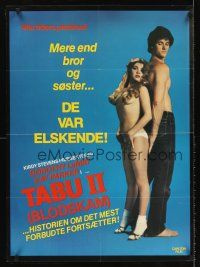 5j607 TABOO 2 Danish '82 Dorothy Le May, Kay Parker, Ron Jeremy, sexy image of couple!