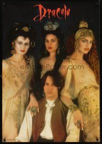 5j007 BRAM STOKER'S DRACULA commercial Dutch '92 Keanu Reeves & sexy vampire brides!