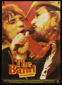 5j018 LAST WALTZ East German 23x32 '81 Martin Scorsese, concert that became a celebration!