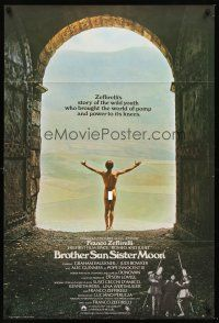 5j057 BROTHER SUN SISTER MOON English 1sh '73 Franco Zeffirelli's Fratello Sole, Sorella Luna!