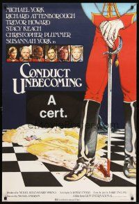 5j058 CONDUCT UNBECOMING English 1sh '75 unspeakable crime among officers & ladies!
