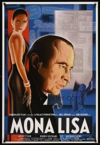 5j060 MONA LISA English 1sh '86 Neil Jordan, art of Bob Hoskins & Cathy Tyson by Lucinda Cowell!