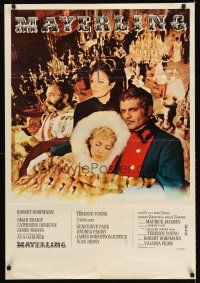 5j635 MAYERLING French 26x38 '69 no woman could satisfy Omar Sharif until Catherine Deneuve!