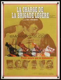 5j658 CHARGE OF THE LIGHT BRIGADE French 23x32 '68 David Hemmings, Vanessa Redgrave!