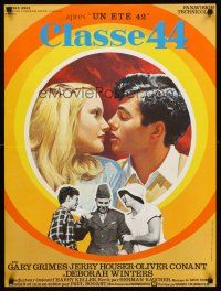 5j659 CLASS OF '44 French 23x32 '73 Gary Grimes, Jerry Houser, great close-up romantic artwork!