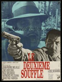 5j746 SECOND BREATH French 23x32 '66 Jean-Pierre Melville's Le Deuxieme Souffle, Lino Ventura!