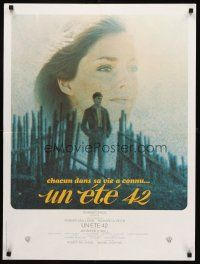 5j757 SUMMER OF '42 French 23x32 R1980s everyone's life there's a summer like this, Jennifer O'Neill!