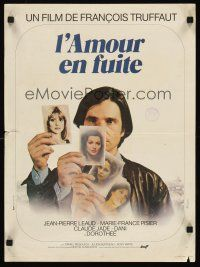 5j797 LOVE ON THE RUN French 15x21 '79 Francois Truffaut's L'Amour en Fuite, Jean-Pierre Leaud