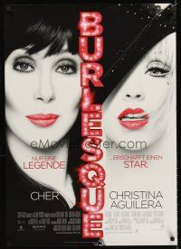 5j270 BURLESQUE DS German '10 Eric Dane, great image of Cher & sexy Christina Aguilera!