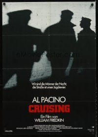 5j273 CRUISING German '80 William Friedkin, Al Pacino pretends to be gay, different image!