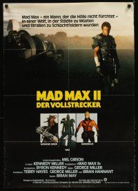 5j292 MAD MAX 2: THE ROAD WARRIOR German '82 full-length Mel Gibson + images of villains!