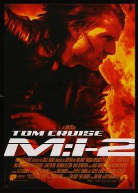 5j296 MISSION IMPOSSIBLE 2 German '00 Tom Cruise, sequel directed by John Woo!