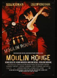 5j299 MOULIN ROUGE German '01 sexy Nicole Kidman, Ewan McGregor, This story is about love!