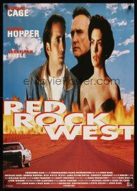 5j310 RED ROCK WEST German '92 Nicholas Cage, pretty Lara Flynn Boyle & Dennis Hopper!