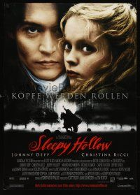 5j316 SLEEPY HOLLOW German '99 directed by Tim Burton, Johnny Depp & Christina Ricci!
