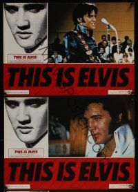 5j189 THIS IS ELVIS 6 Ital/Eng 13x18 pbustas '81 rock 'n' roll biography, portraits of The King!