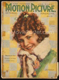 5m102 MOTION PICTURE magazine October 1918 great art of smiling Ruth Roland by Leo Sielke Jr.!