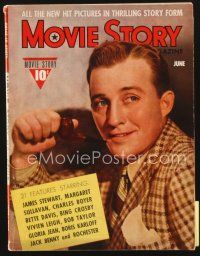 5m118 MOVIE STORY magazine June 1940 Bing Crosby on cover, cool Black Friday article w/Karloff!