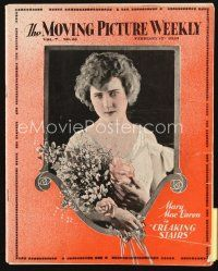 5m060 MOVING PICTURE WEEKLY exhibitor magazine February 15, 1919 image of Mary MacLaren!