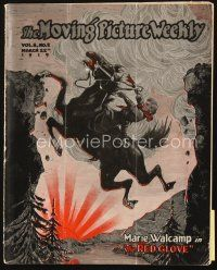5m061 MOVING PICTURE WEEKLY exhibitor magazine March 22, 1919 pretty Gymbelles & Boneheads!