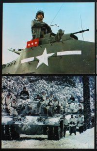 5r004 PATTON 14 color ItalUS 11x14 stills '70 General George C. Scott military World War II classic!